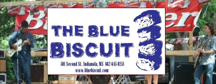 The Blue Biscuit in Indianola, Mississippi