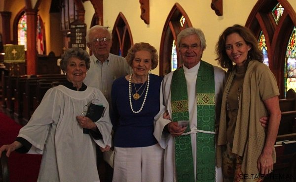 Cradle Episcopalians inside St. Georges Episcopal Church in Clarksdale