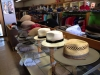 Hats inside Shankerman\'s Mens Wear Store in Clarksdale