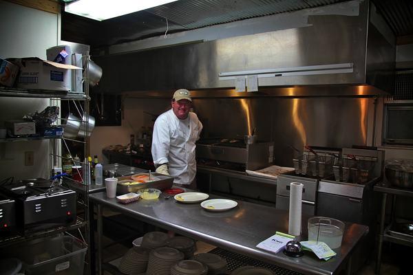 John Mohead owner and chef at Kathryn\'s at Moon Lake