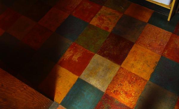 The floor at Kathryn\'s on Moon Lake