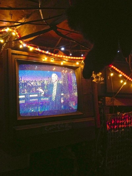 David Letterman at Po Monkey's Juke Joint