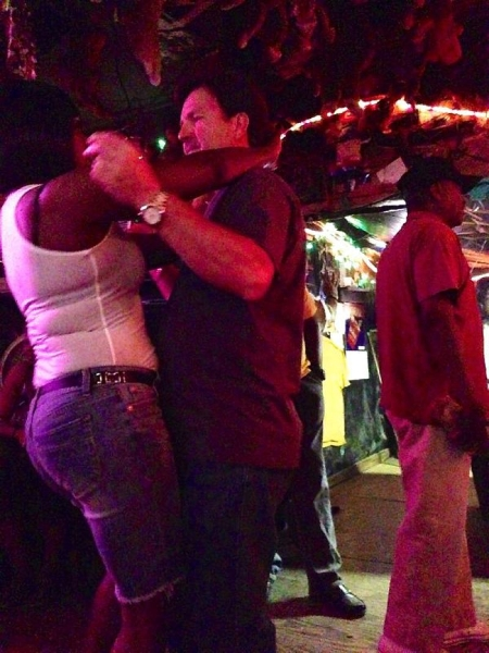 Dancing is contageous at Po Monkey's Juke Joint