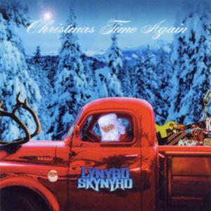 Lynyrd Skynyrd's Album Cover for Christmas Time Again