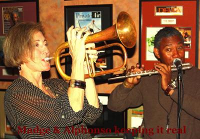 Clarksdale regular Semi-fixture Musician Extraordinaire Dr. Alphonso Sanders