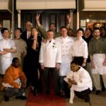 All the chefs of French Night Madidi in Clakrsdale, MS