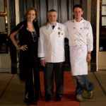 General Manager Madge Marley Howell, Chevalier and Master French Chef Philippe Boulot, Executive Chef Levi Minyard. Photography by Langdon Clay