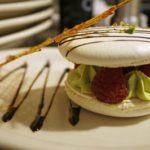 Avignon, France Philippe Gelfi's finished dessert. Photo by Rachel Bush.
