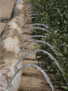 Irrigation Pipe in the Mississippi Delta