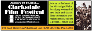 Clarksdale Film Festival Great Southern Films Music Documentaries Juke Joint Festival Cat Head