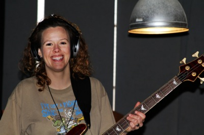 Bass Guitarist Heather Crosse of Clarksdale, MS.