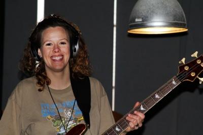Bass Guitarist Heather Crosse of Clarksdale, MS.