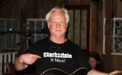 Multi-talented Gary Vincent pimpin' Clarksdale.