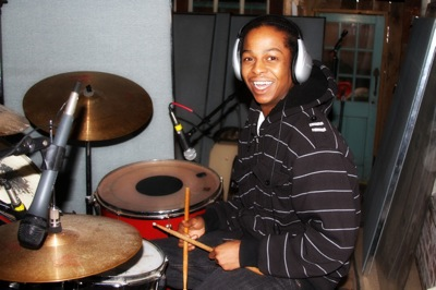 Another shot of Drummer Lee Williams one of Clarksdale's talented artists!