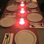 A Dinner Table Setting on a magical Delta Bohemian night with friends. Photo by The DB