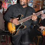 Classic shot of Super Chikan at Red's Blues Lounge in Clarksdale. Photo by The Delta Bohemian