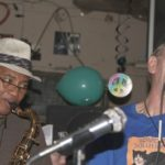 Alphonso Sanders and Watermelon Slim playing at Red's Blues Lounge in Clarksdale, MS. Photo by The Delta Bohemian