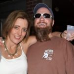 """Magical and Sean """"Bad"""" Appel at Red's Blues Club in Clarksdale. Photo by The Delta Bohemian"""