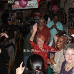 Harvey Fizer and friends having a great time at Red's Blues Club in Clarksdale. Photo by The Delta Bohemian