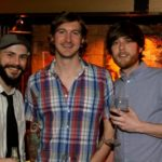 Artists Greg Birdsong, Joey Young, Austin Britt. Photo by DB