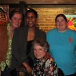 Shonda Warner, Dr. ERica Balthrop, Carol Vincent, Casey Hence. Photo by DB