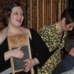 Adorable Washboard Emmy of the Side Street Steppers. Photo by DB