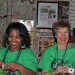Volunteer and the Hostess Sister Teresa Shields of Jonestown Family Center. Photo by The Delta Bohemian