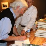 Author Curtis Wilkie signing his book FALL OF THE HOUSE OF ZEUS. Photo by The Delta Bohemian