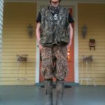 Delta Bohemian Adam Britt prior to going four wheeler riding behind the levee. Photo by The Delta Bohemian