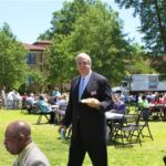 Mississippi Gubernatorial Candidiate Bill Luckett at Delta Council. Photo by The Delta Bohemian