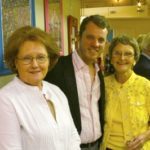 Diane Stanford, Benjamen Douglas, Jane Roberson at C.A.R.E. party in Charleston, MS. Photo by The Delta Bohemian