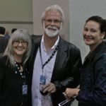 Lavonna Bowker, DB Bill Bowker, Janet Coursin at Blues Music Awards. Photo by The Delta Bohemian