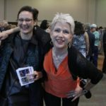Janet Coursin and Delta Bohemian Erin Lee at Blues Music Awards. Photo by The Delta Bohemian