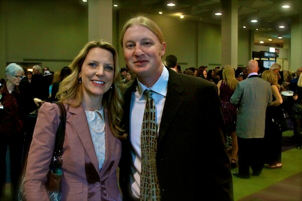 Super Hot and Talented Married Couple - Susan Tedeschi and Derek Trucks of the NEW Tedeschi Trucks Band at the Blues Music Awards in Memphis. Derek won Best Guitar Instrumentalist and Best Band of the Year. Photo by The Delta Bohemian
