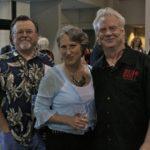CEO of Big Star Media Group Josh Salganik, Carol and Gary Vincent at BMA. Photo by The Delta Bohemian