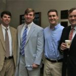 Preston Thomas, Powell Litton, Scott Flowers, Tripp Hayes at Delta Council. Photo by The Delta Bohemian