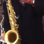 Musician Alphonso Sanders in Clarksdale, MS. Photo by The Delta Bohemian
