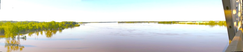 The Mighty Mississippi River - May 3, 2011. Photo by The Delta Bohemian