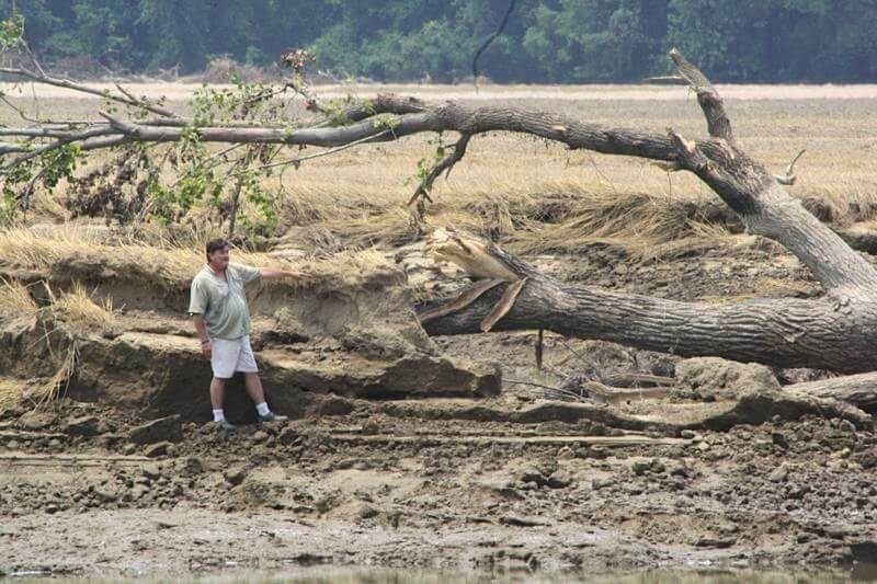 The Great Divide - remnants of the Great Flood of 2011