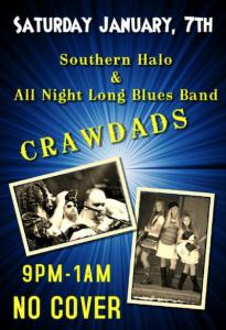 Saturday night at Crawdad's