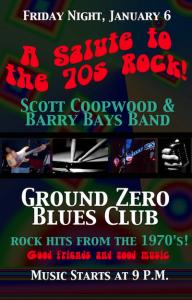 Friday night at Ground Zero Blues Club