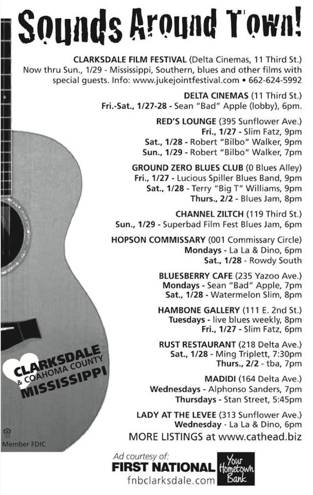Sounds Around Clarksdale