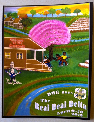 Painting featured on DME REAL DEAL DELTA promotion is by James Super Chikan Johnson. Courtesy of Amanda Gresham