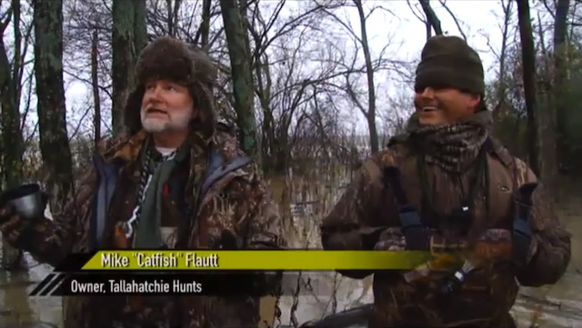 The Outdoor Channel OUTFITTERS SHOWCASE discovers the Free State of TALLAHATCHIE HUNTS man Michael CATFISH Flautt