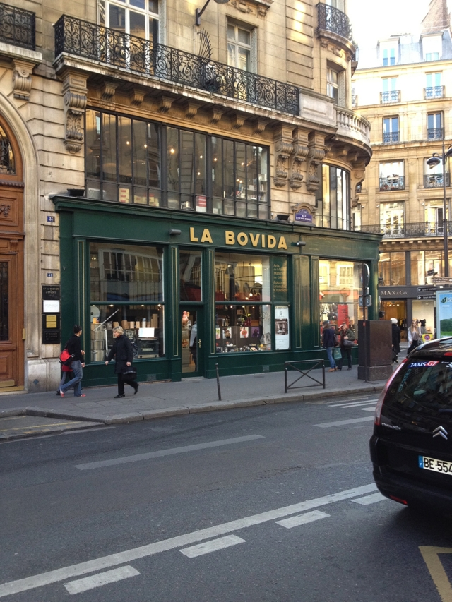Jay and Levi visited the landmark gourmet shop La Bovida in Paris. RIP Levi Minyard. Photo by Guest Bohemian Jay Hughes
