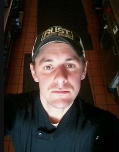 Levi Minyard in his Rust hat. Photo by Levi Minyard. RIP our friend