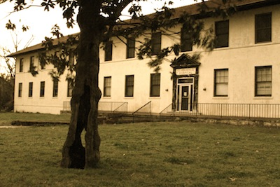 Original Clarksdale Hospital. Photo by Delta Bohemian