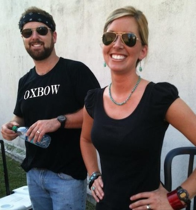 Hayden and Erica Hall, owners of OXBOW in Clarksdale. Photo courtesy of Oxbow.