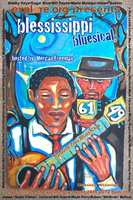 Blessissippi Blues – Freeman and explore.org Hosting Live Concert in Clarksdale