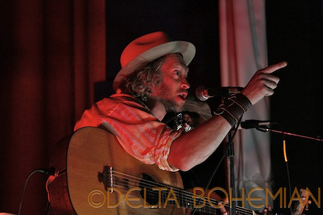 JIMBO MATHUS AT DELTA CINEMA IN CLARKSDALE. Photo by DELTA BOHEMIAN